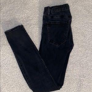 Zara Charcoal Grey Jeans (Size US 4)